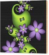 Cheerful Wood Print