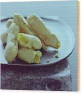Cheese Puffs Wood Print