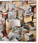 Cheese Shop Wood Print