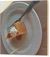 Cheesecake Wood Print