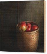 Chef - Fruit - Apples Wood Print