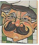 Chef Guido Wood Print