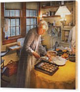 Chef - Kitchen - Coming Home For The Holidays Wood Print