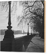 Chelsea Embankment London Uk 5 Wood Print
