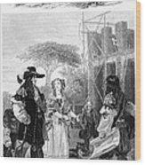 Chelsea Hospital, 1682 Wood Print