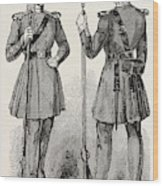 Chelsea Out-pensioners In Their New Uniform Wood Print