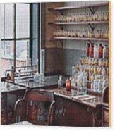 Chemist - Perfume Science  Wood Print
