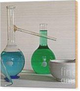 Chemistry Class Wood Print