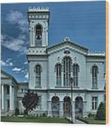 Chemung County Courthouse Wood Print