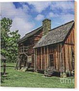 Cherokee Tavern Wood Print