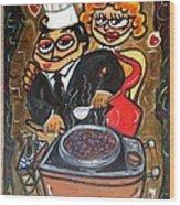 Cherrie Jubilee  Wood Print