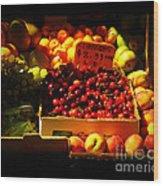 Cherries 299 A Pound Wood Print