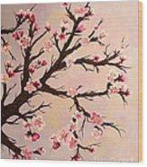Cherry Blossoms 2 Wood Print