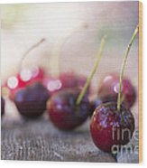 Cherry Delites Wood Print