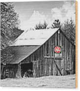 Cherry Dr Pepper Wood Print
