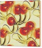 Cherry Jelly Wood Print