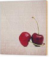 Cherry Love Wood Print