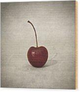Cherry Wood Print by Taylan Apukovska