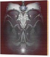 Cherub 7 Wood Print by Otto Rapp