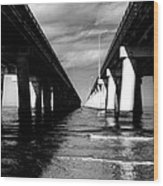 Chesapeake Bay Bridge II Wood Print