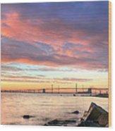 Chesapeake Mornings  Wood Print by JC Findley
