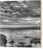 Chesapeake Splendor Bw Wood Print by JC Findley
