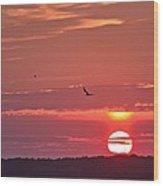 Chesapeake Sunset 1 Wood Print