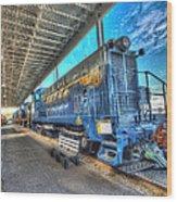 Chesapeake Western Baldwin Ds-4-4-660 No 662 Wood Print