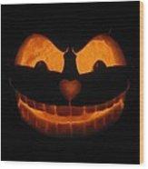 Cheshire Cat Wood Print