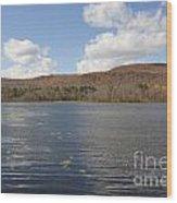 Cheshire Lake Wood Print