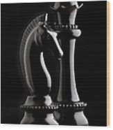 Chess IIi Wood Print