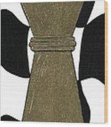 Chess Queen Wood Print