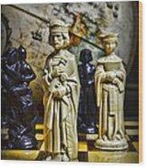 Chess - The Sacrifice Wood Print