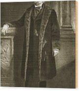 Chester A. Arthur Wood Print