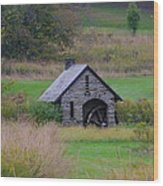 Chestnut Hill Autumn Wood Print