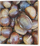 Chestnuts Wood Print