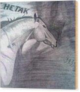 Chetak Wood Print