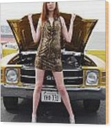 Chevelle Chick Wood Print