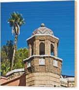 Cheveron Domed Tower 1 Wood Print