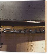 Chevrolet 3 Wood Print