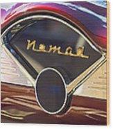 Chevrolet Belair Nomad Dashboard Wood Print