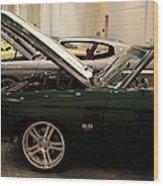 Chevrolet Chevelle Ss 5d26877 Wood Print