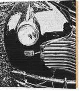 Chevrolet Classic Wood Print