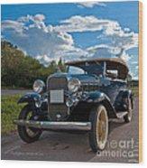 Chevrolet Confederate Ba Phaeton 1932 Wood Print
