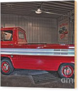Chevrolet Corvair  95 Rampside Wood Print