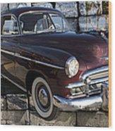 Chevrolet Deluxe Car Wood Print