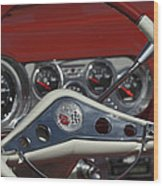 Chevrolet Impala Steering Wheel Wood Print