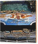 Chevrolet Picking Wood Print