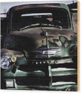 Chevrolet Truck Wood Print