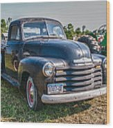 Chevy 1100 Wood Print